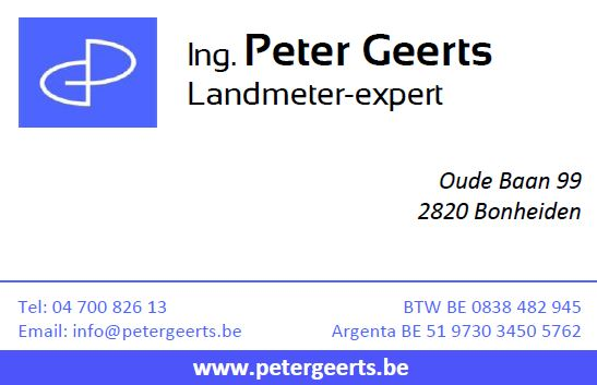 business card Peter Geerts